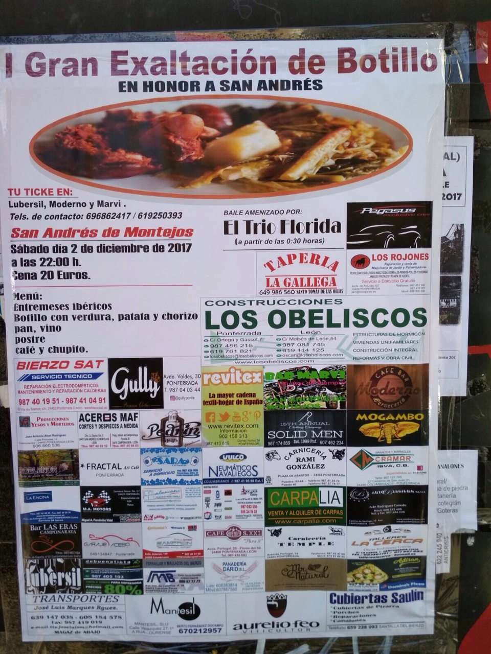 I Gran Exaltación del botillo en San Andrés de Montejos 2