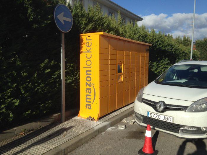 Amazon instala uno de sus puntos de recogida Amazon Lokers en Ponferrada 4