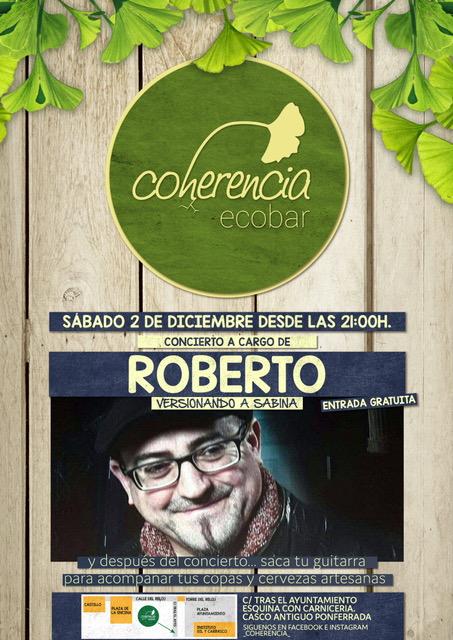 Concierto: Roberto versioneando a Sabina