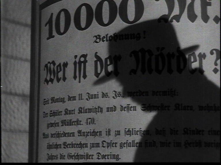 Proyección: 'M, el vampiro de Düsseldorf'
