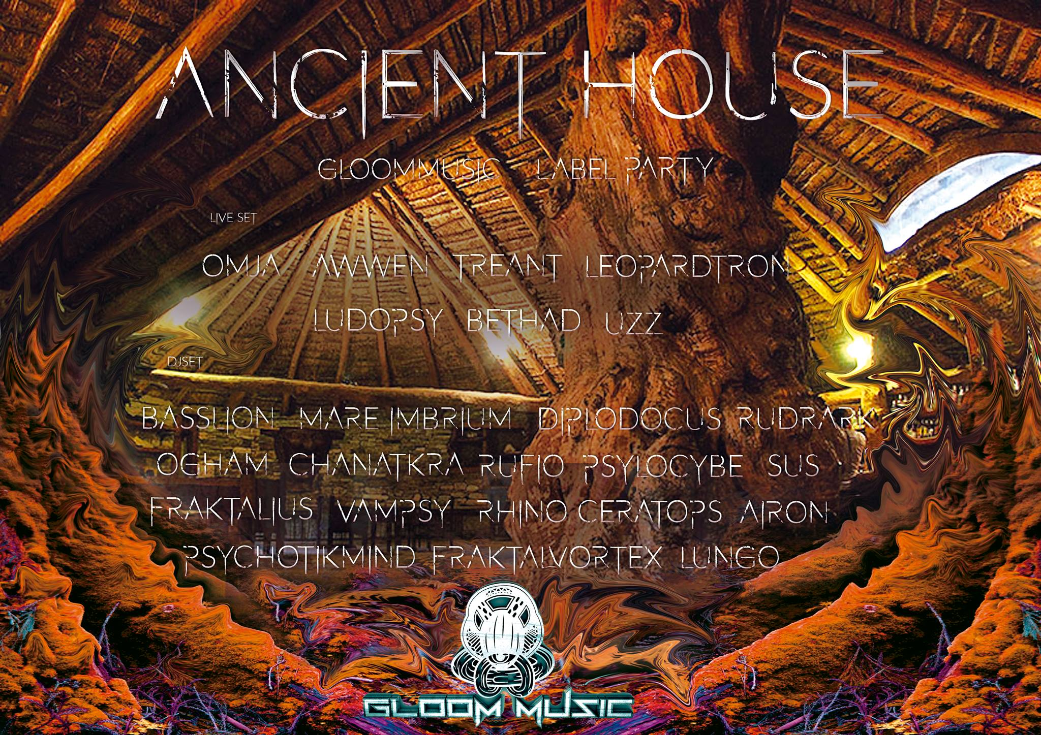 GloOm Music Label Party; The Ancient House III