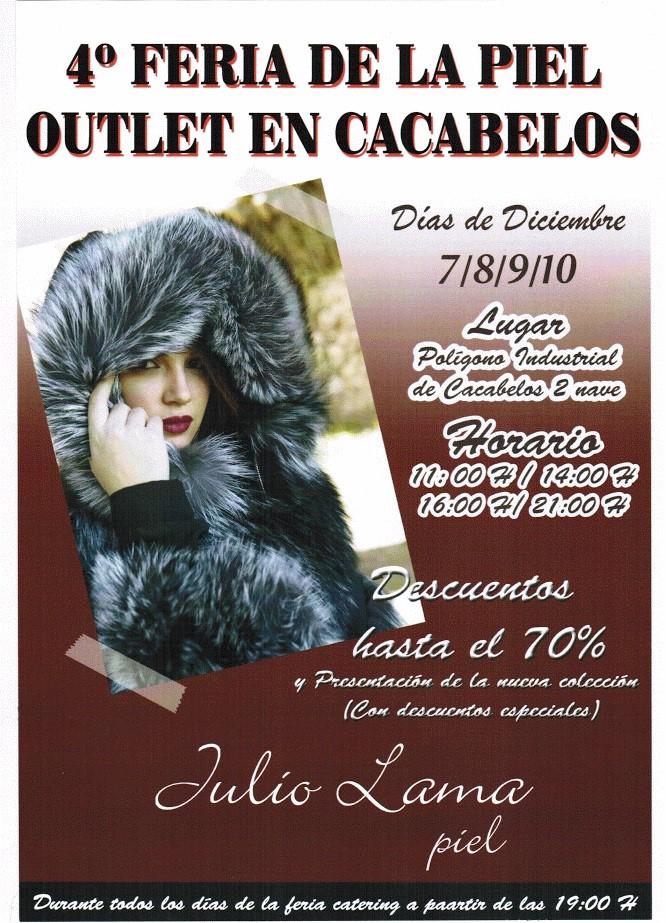 4ª Feria de la piel outlet en Cacabelos