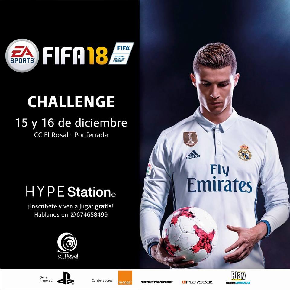 Fifa Challenge en Hype Station