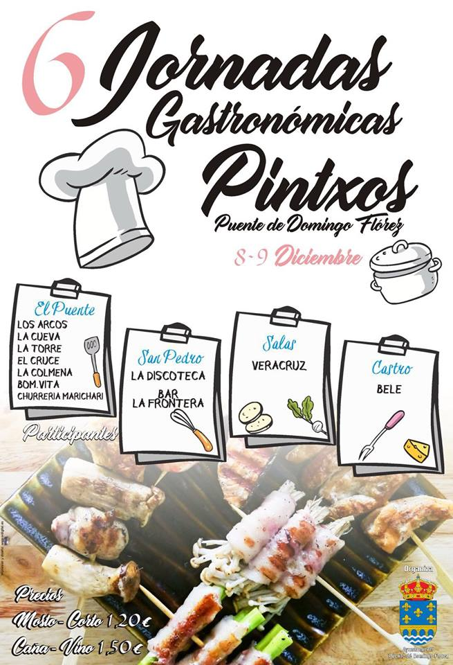 6 Jornadas Gastronómicas de Pintxos
