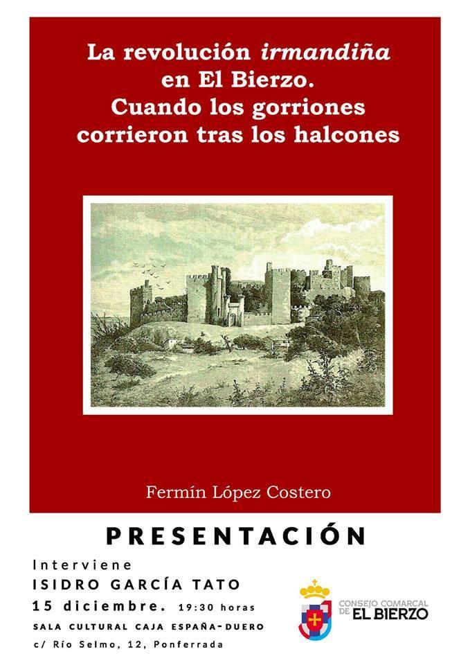 Presentación del libro 'La revolución irmandiña en El Bierzo'