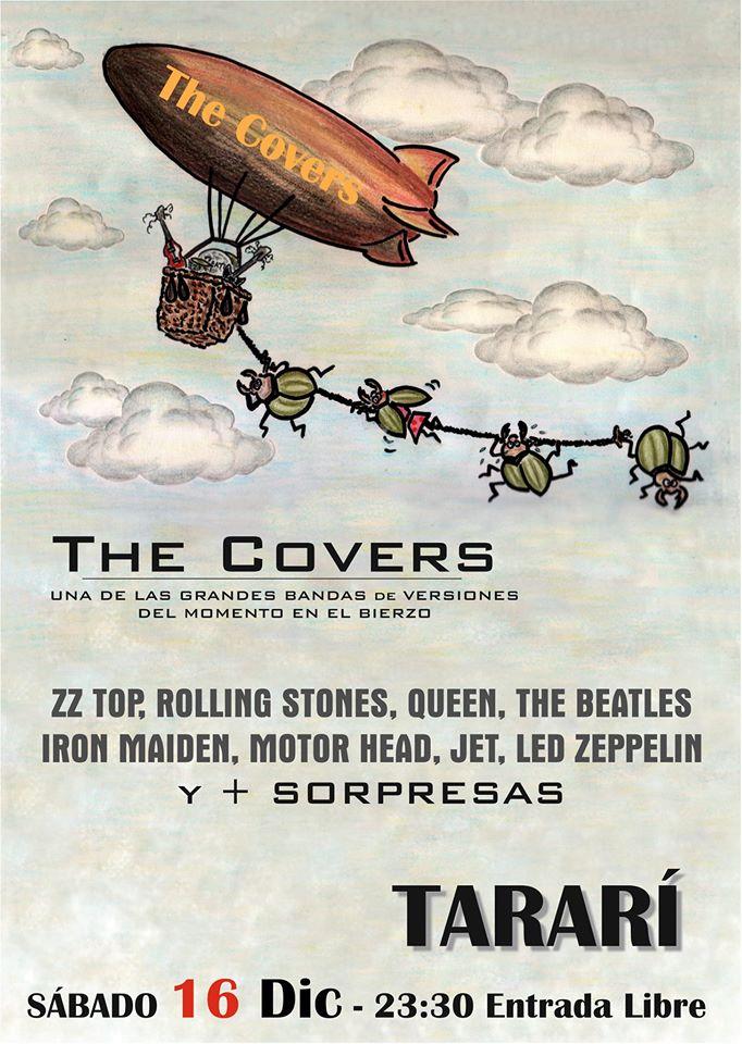 The Covers en Concierto en La Sala Tarari