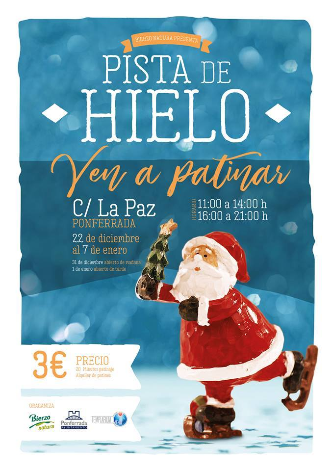 Planes en Ponferrada y el Bierzo para el fin de semana 22 al 24 de Diciembre + 25 Navidad 2