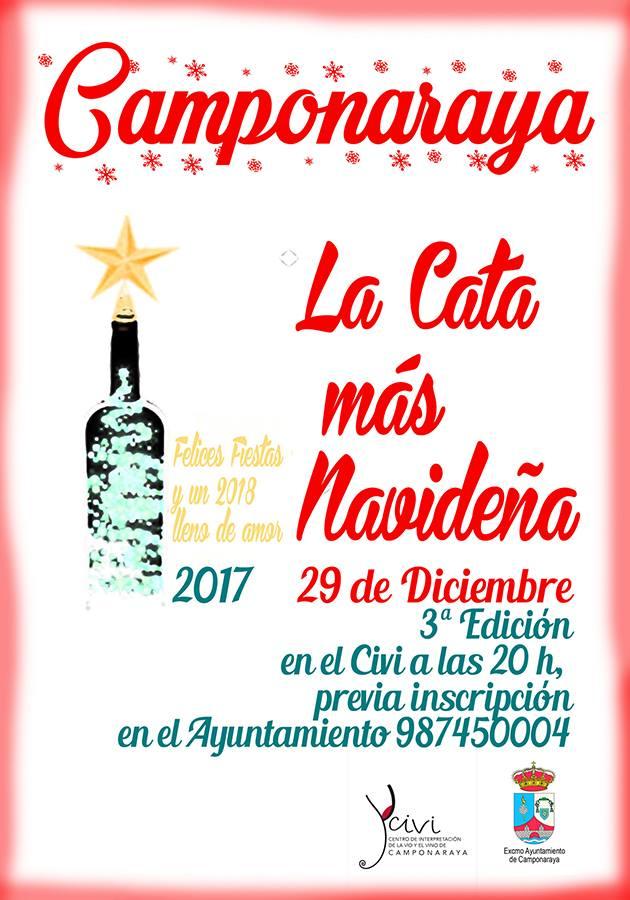 Tercera edición de la cata más Navideña en el Civi de Camponaraya 2