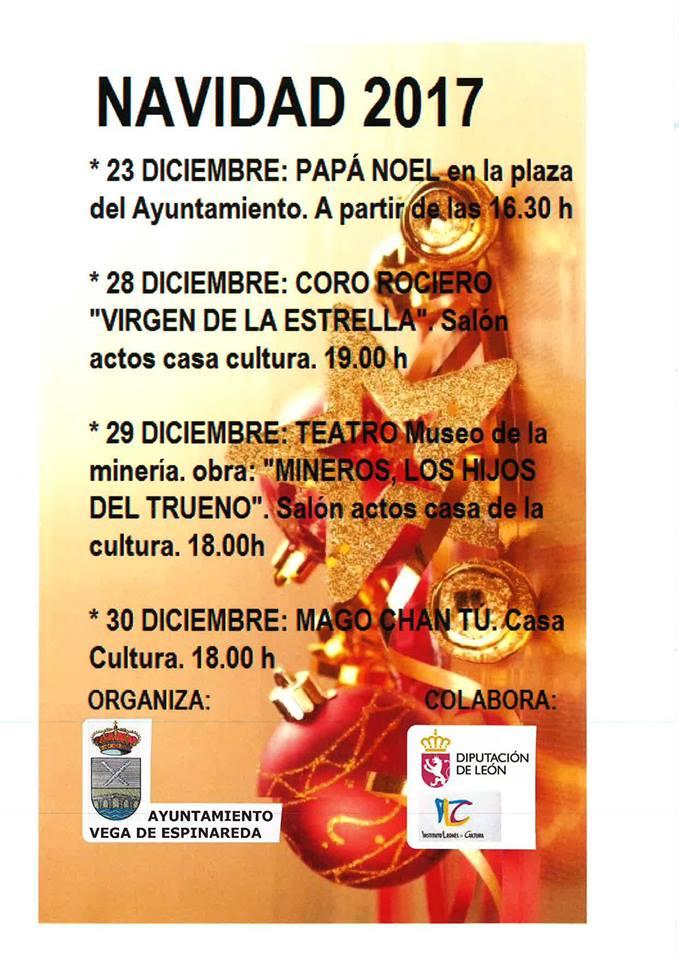 Actividades de Navidad en Vega de Espinareda 2