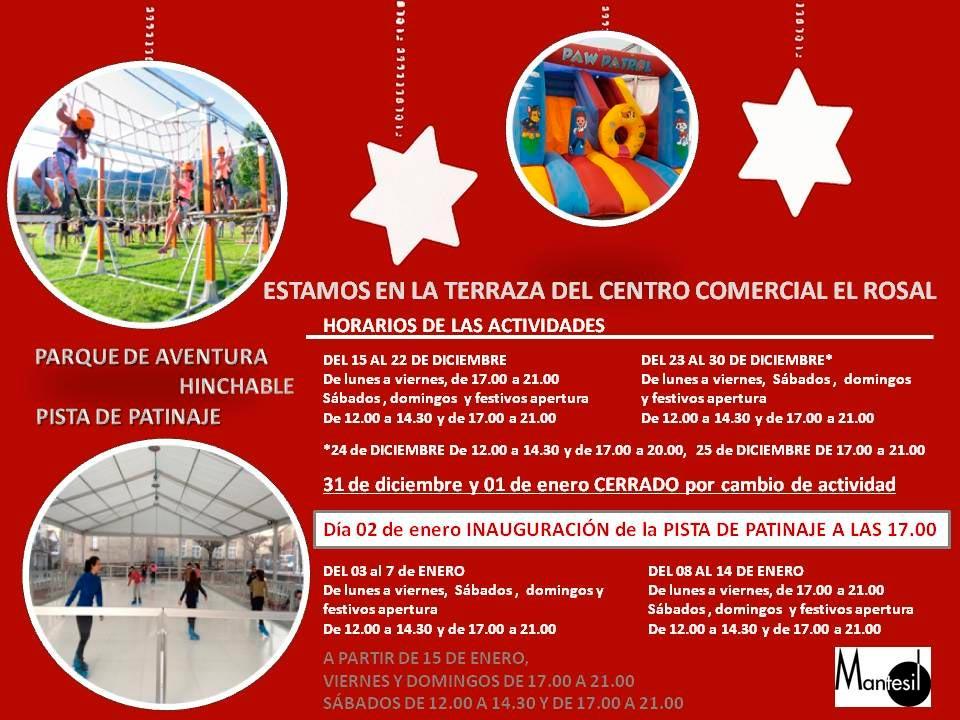 El Centro Comercial El Rosal monta su propio parque de aventuras 3