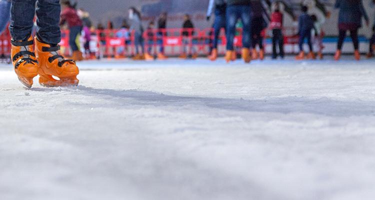 Pista de patinaje en El Rosal