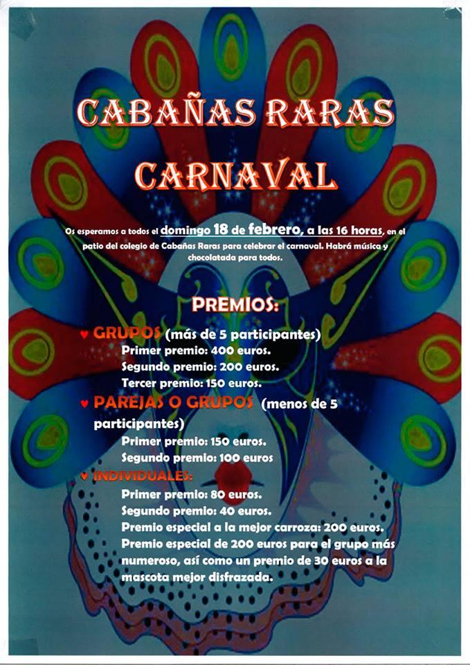 Carnaval 2018 en Cabañas Raras 2
