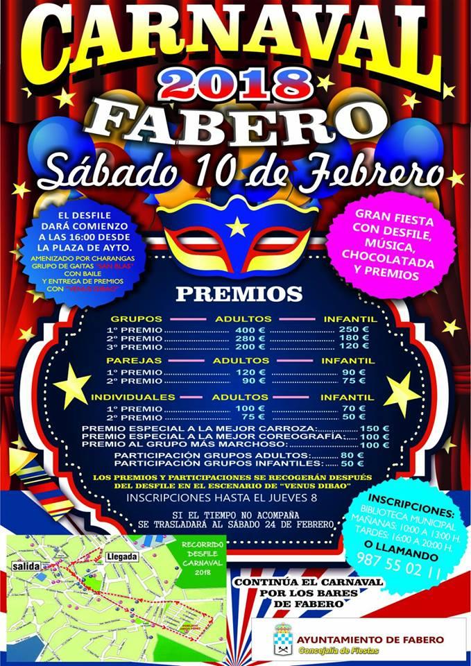 Carnaval 2018 en Fabero 2