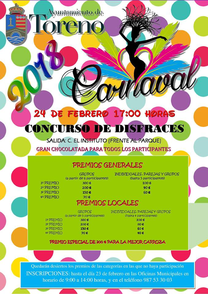 Toreno anuncia sus actividades de Carnaval 3