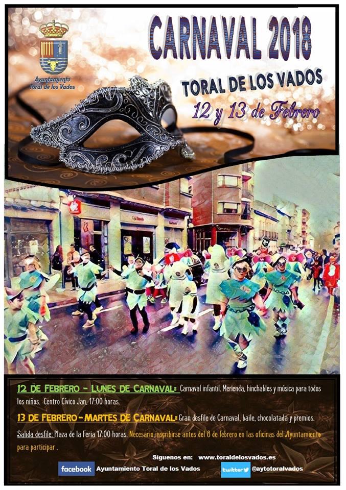 Agenda del Carnaval 2018 en el Bierzo. Guía con las fechas, recorridos y premios 13