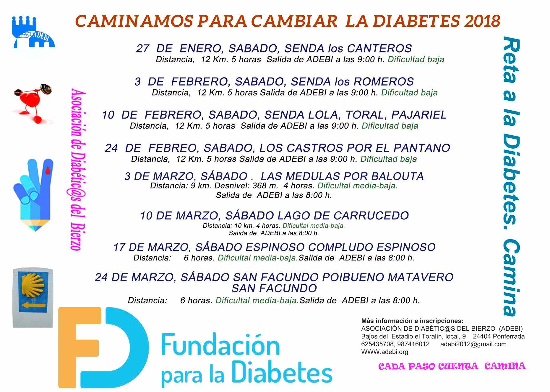Camniando para cambiar la Diabetes