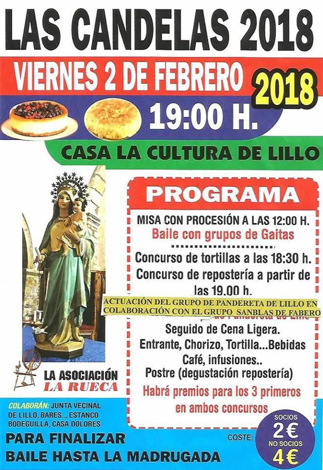 Lillo del Bierzo celebra Las Candelas 2018 2