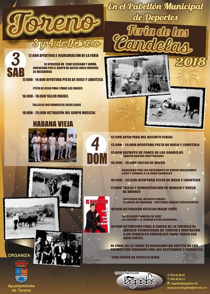 Feria de las Candelas 2018 en Toreno 2