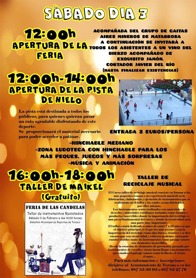 Feria de las Candelas 2018 en Toreno 4