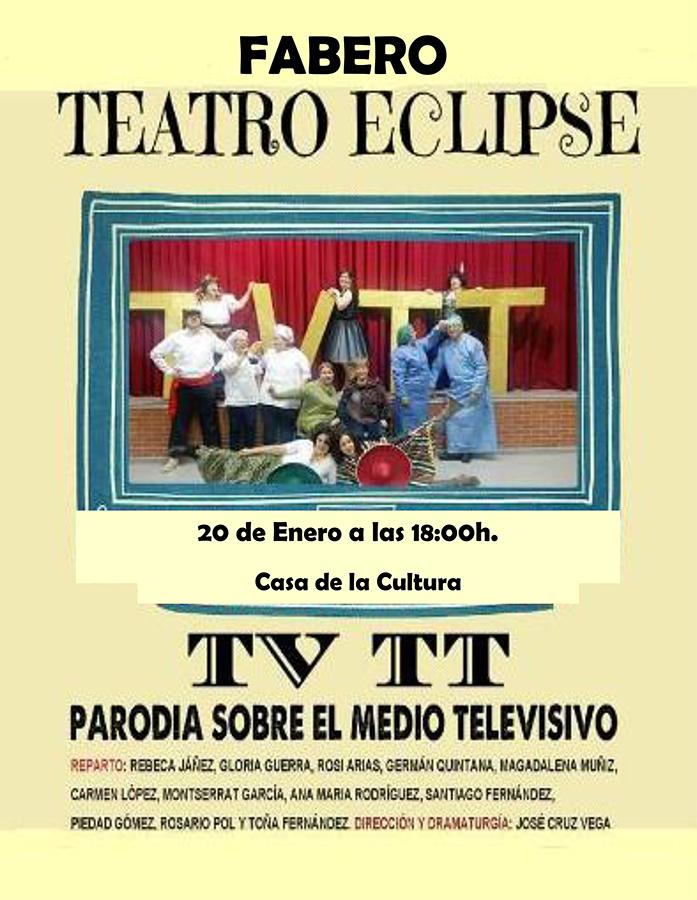 La Casa de la Cultura de Fabero recibe a la compañía de Teatro Eclipse con la obra 'TV TT' 2