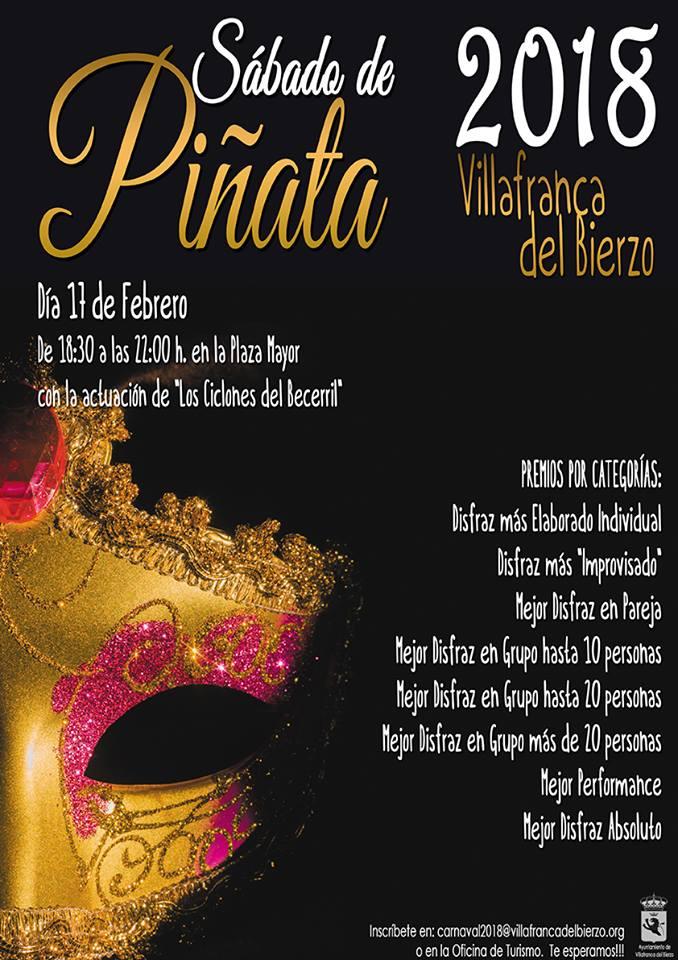 Agenda del Carnaval 2018 en el Bierzo. Guía con las fechas, recorridos y premios 3