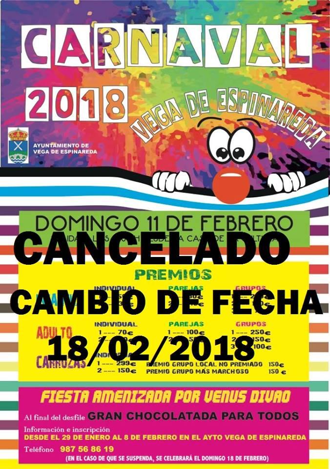 Agenda del Carnaval 2018 en el Bierzo. Guía con las fechas, recorridos y premios 12