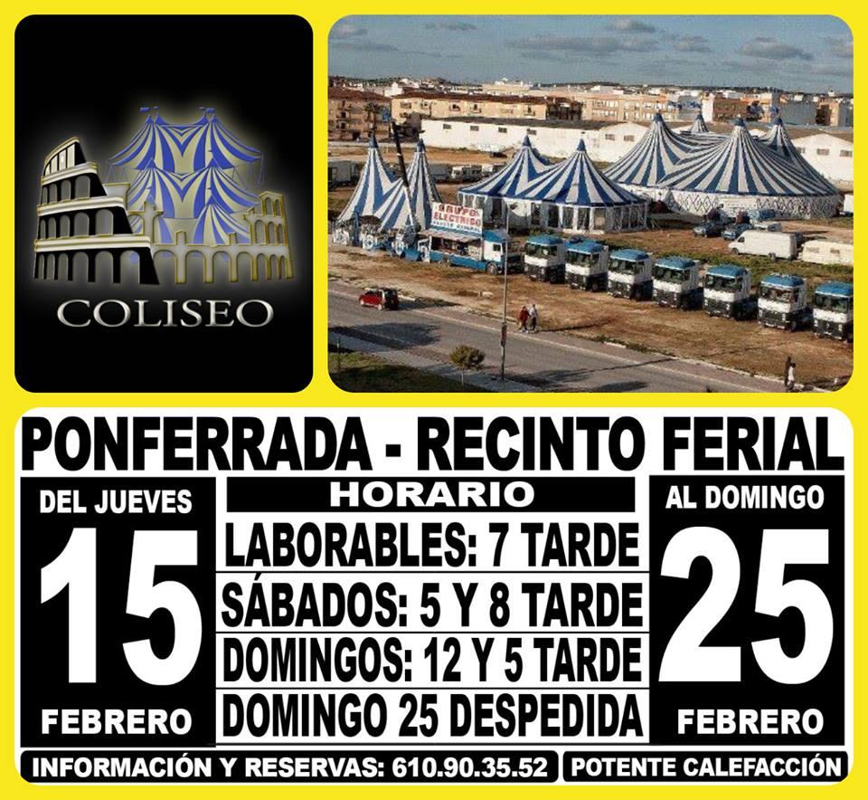 El Circo Coliseo llega a Ponferrada 4