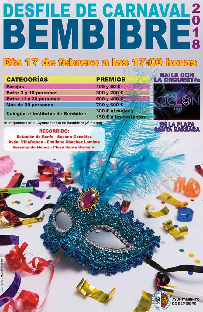 Agenda del Carnaval 2018 en el Bierzo. Guía con las fechas, recorridos y premios 15
