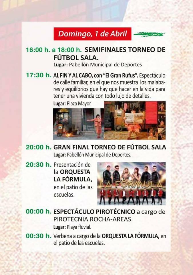 Fiestas de Pascua de Cacabelos 2018. Programa y actividades 6