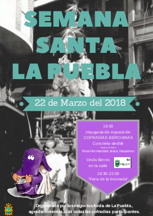 Los comerciantes de la Avenida de La Puebla vestirán la calle de Semana Santa 2