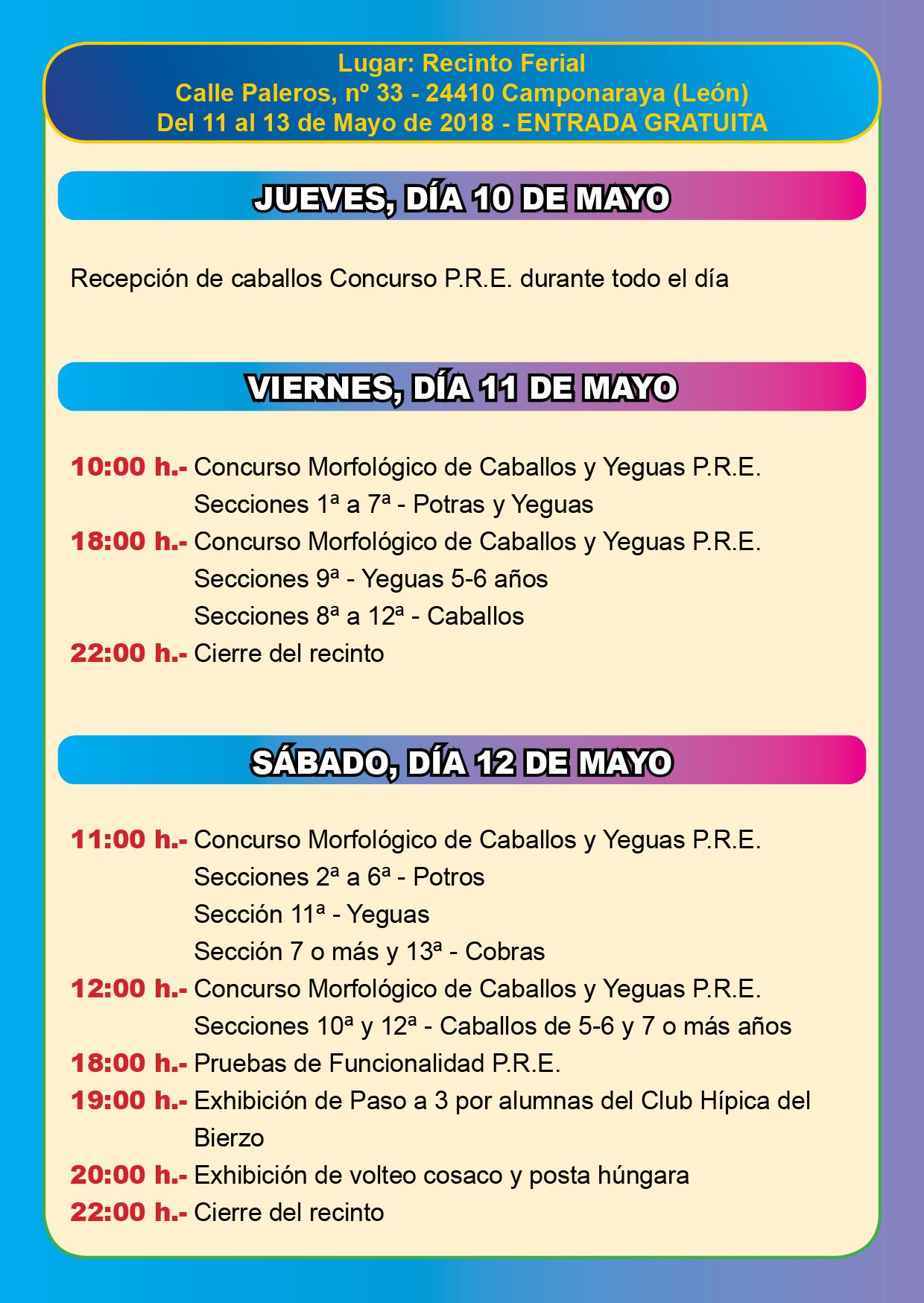 XXII Feria del Caballo en Camponaraya 2
