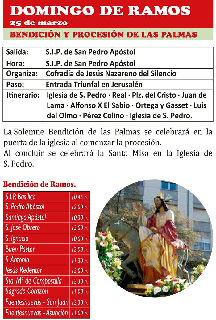 Semana Santa de ponferrada 2018. Programa y actividades 11