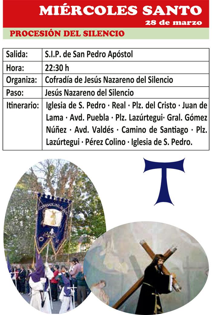 Semana Santa de ponferrada 2018. Programa y actividades 15