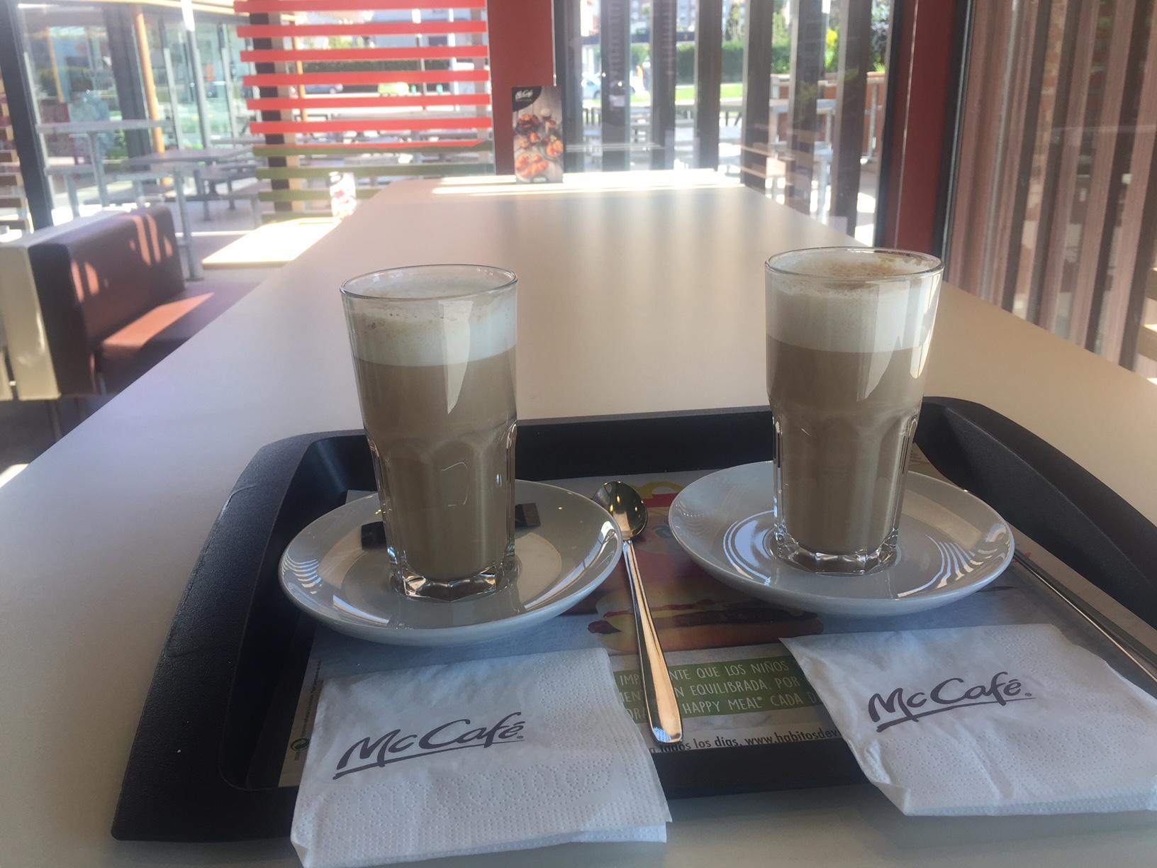McDonalds Ponferrada incorpora a su oferta el concepto McCafe 2