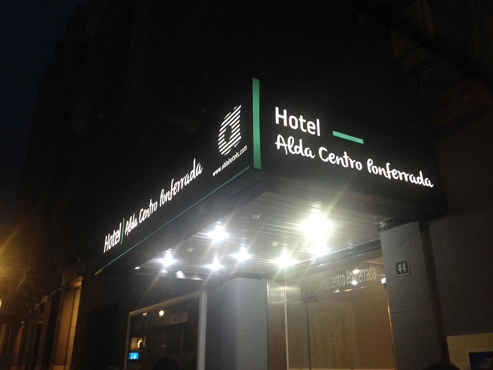 Adíos Hotel Madrid, hola Alda Centro Ponferrada 6