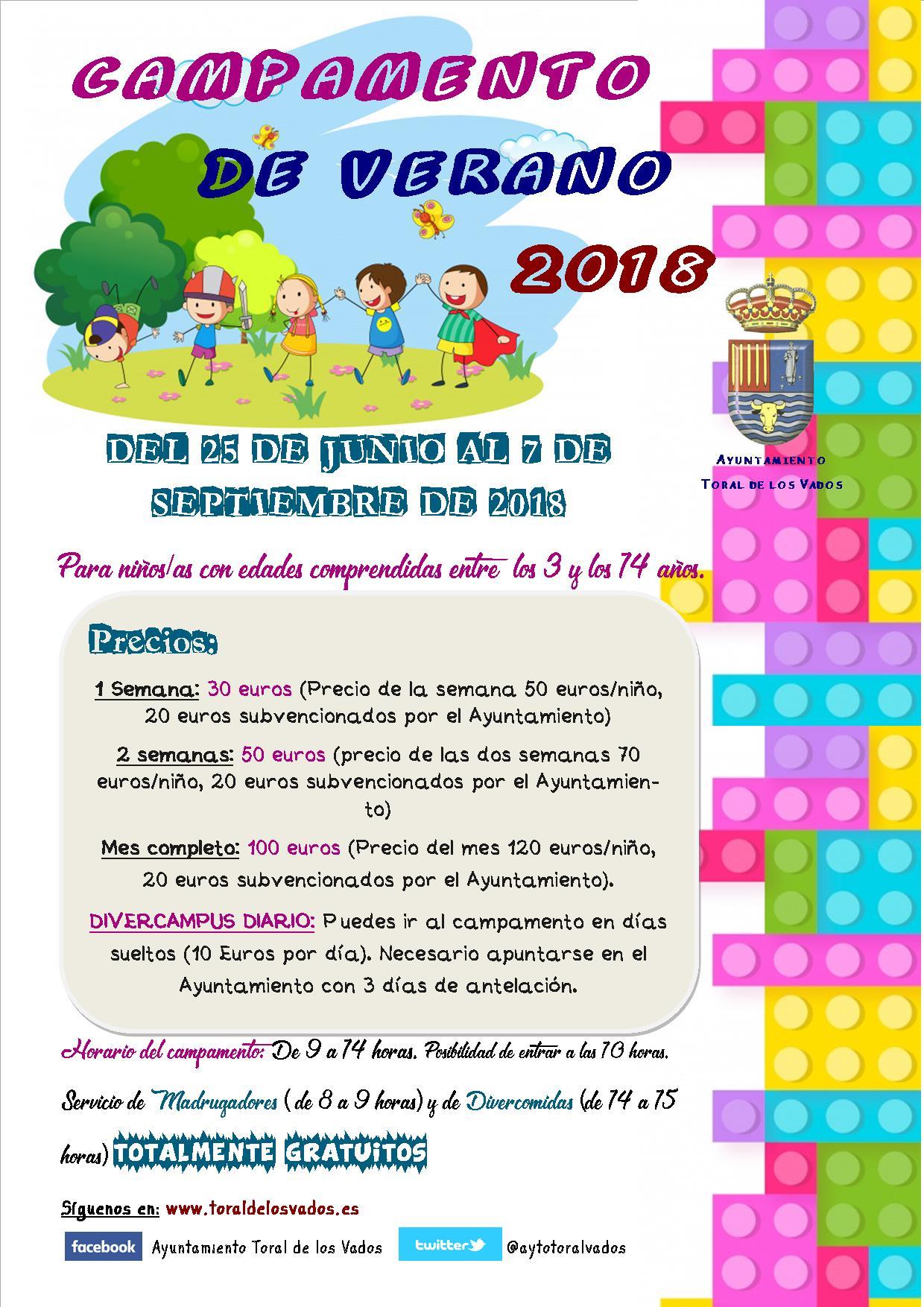 Campamentos de verano para niños 2018 en Ponferrada y El Bierzo 35