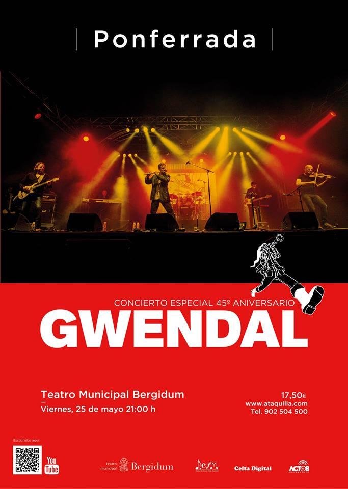 Gwendal, la banda que popularizó el folk celta en todo el mundo desembarca en el Bergidum 2