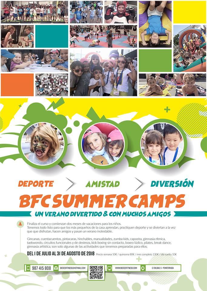 Campamentos de verano para niños 2018 en Ponferrada y El Bierzo 2
