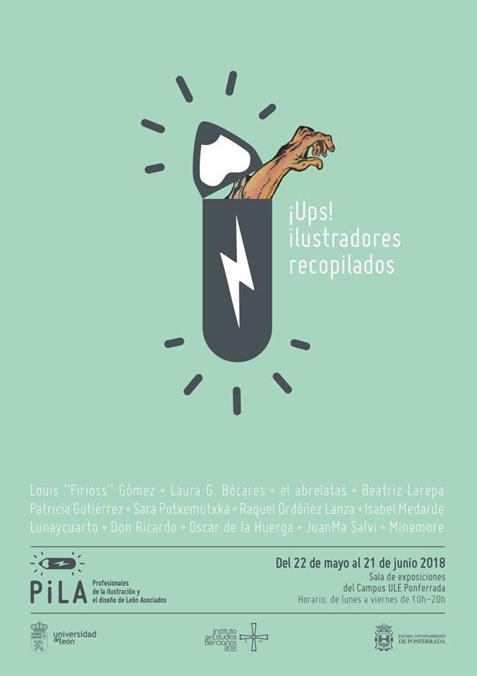 Exposición: ¡Ups! ilustradores recopilados