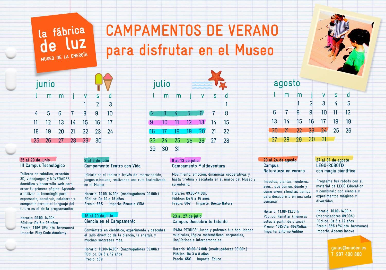 Campamentos de verano para niños 2018 en Ponferrada y El Bierzo 19