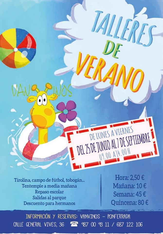 Campamentos de verano para niños 2018 en Ponferrada y El Bierzo 34