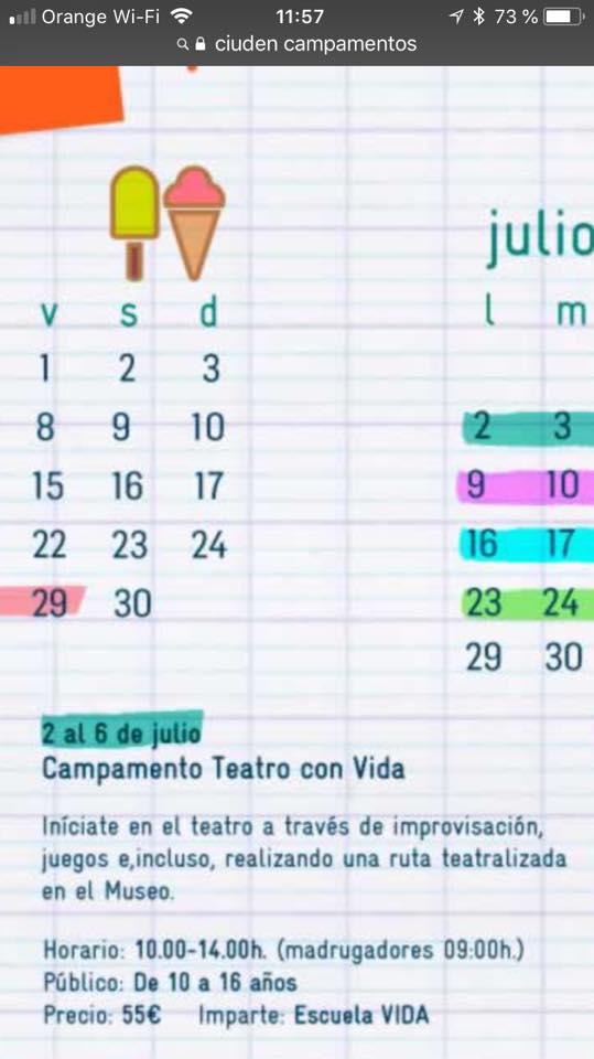 Campamentos de verano para niños 2018 en Ponferrada y El Bierzo 42