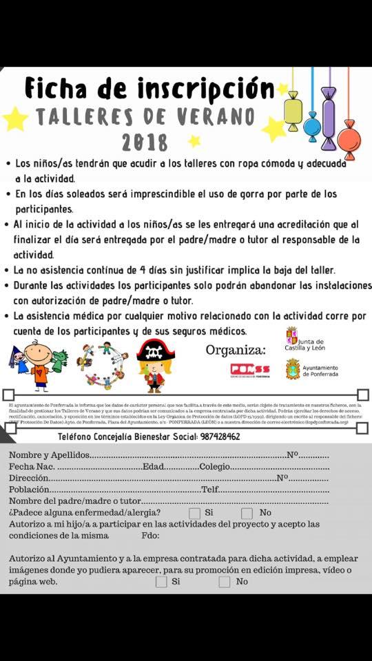 Campamentos de verano para niños 2018 en Ponferrada y El Bierzo 44