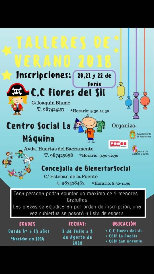 Campamentos de verano para niños 2018 en Ponferrada y El Bierzo 43