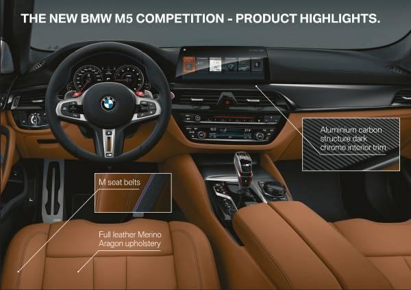 El nuevo BMW M5 Competition 3