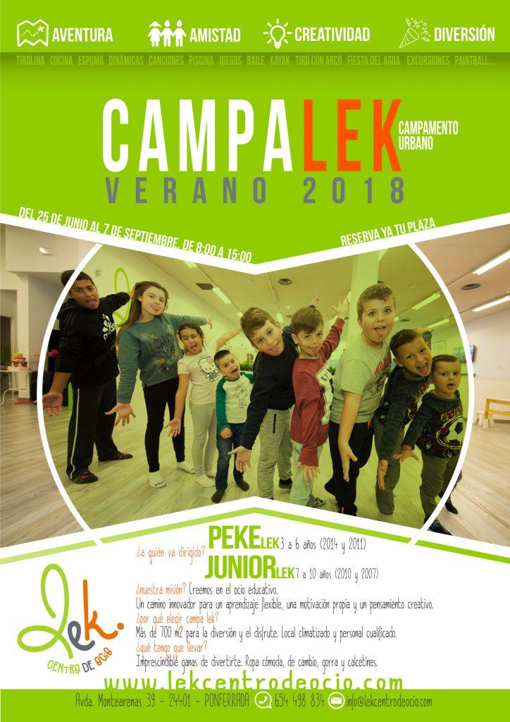 Campamentos de verano para niños 2018 en Ponferrada y El Bierzo 32