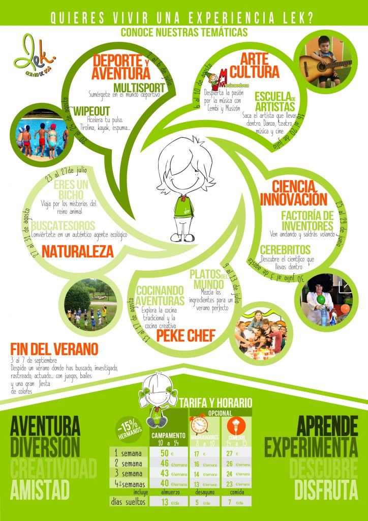Campamentos de verano para niños 2018 en Ponferrada y El Bierzo 33
