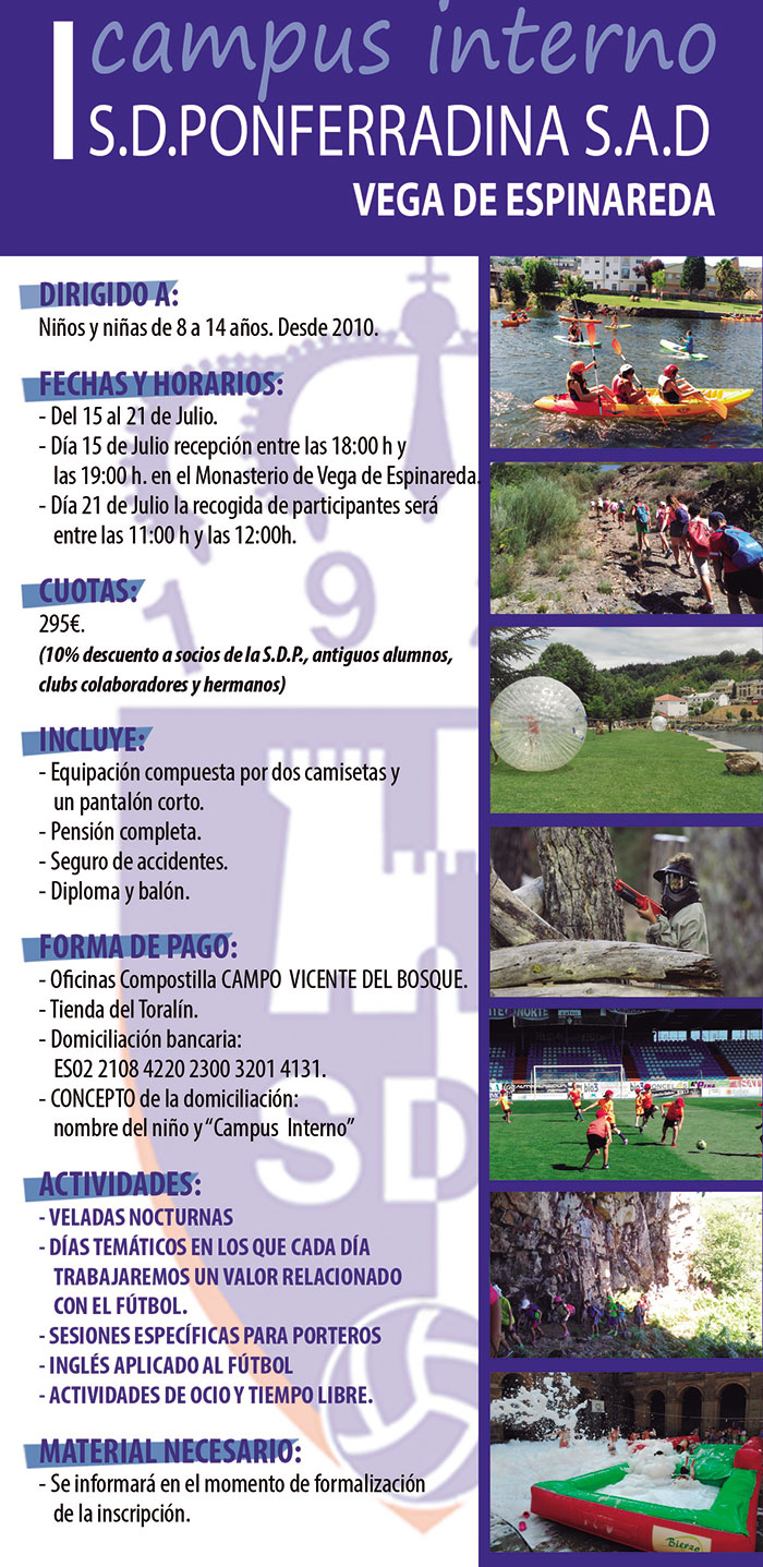 Campamentos de verano para niños 2018 en Ponferrada y El Bierzo 17