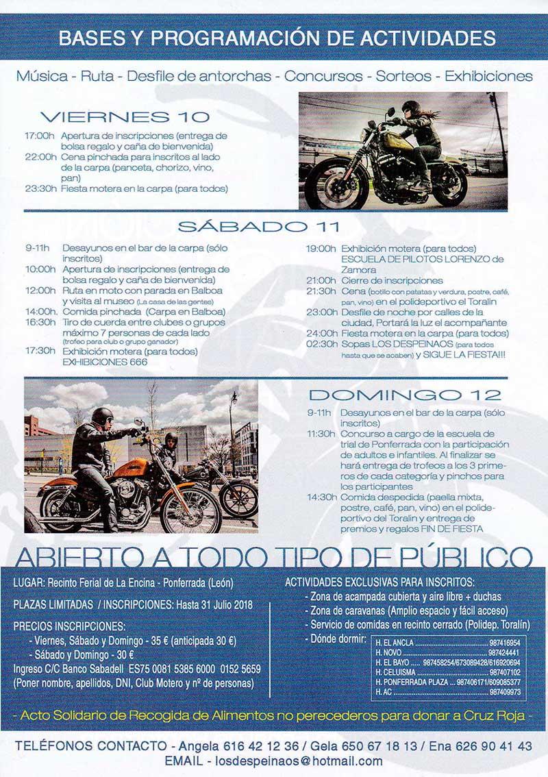 1ª Concentración de motos Ciudad de Ponferrada 2