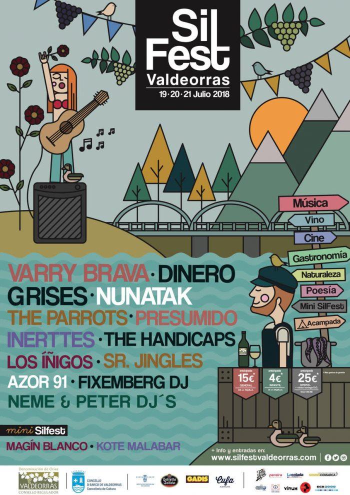 Llega la tercera edición del festival SilFest a Valdeorras 2
